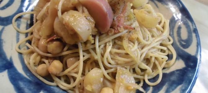 『かぶらとひよこ豆のポモドリーノ』