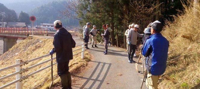 4月1日は、一日農業用の水路の掃除の日でした。