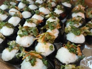 Tempura-rice balls
